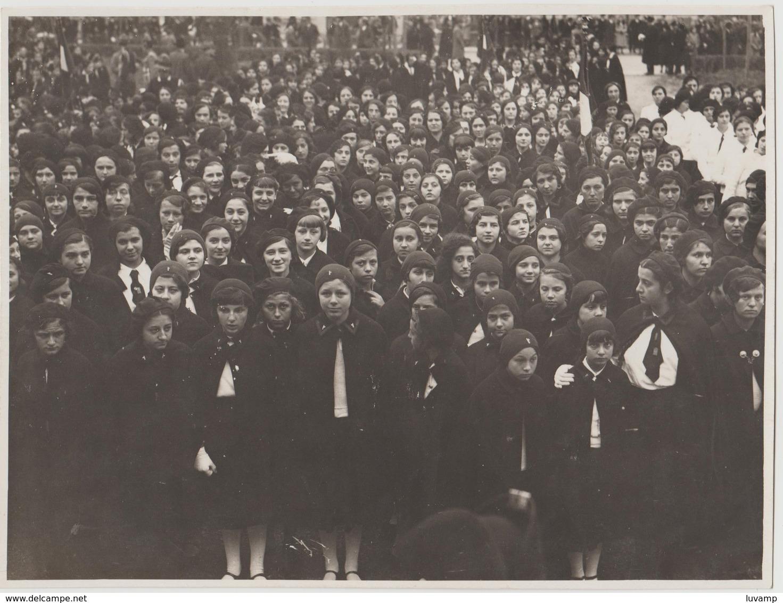 NOVARA - CASA BALILLA -FOTO ORIGINALE (50119) - Persone Identificate