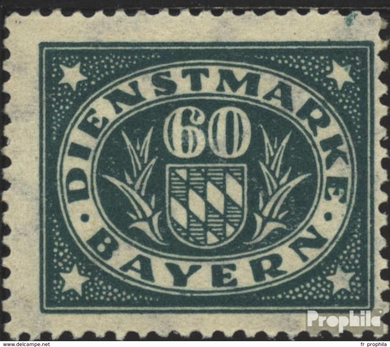Bavière D51 Neuf Avec Gomme Originale 1920 Adieu La Série - Bayern (Baviera)