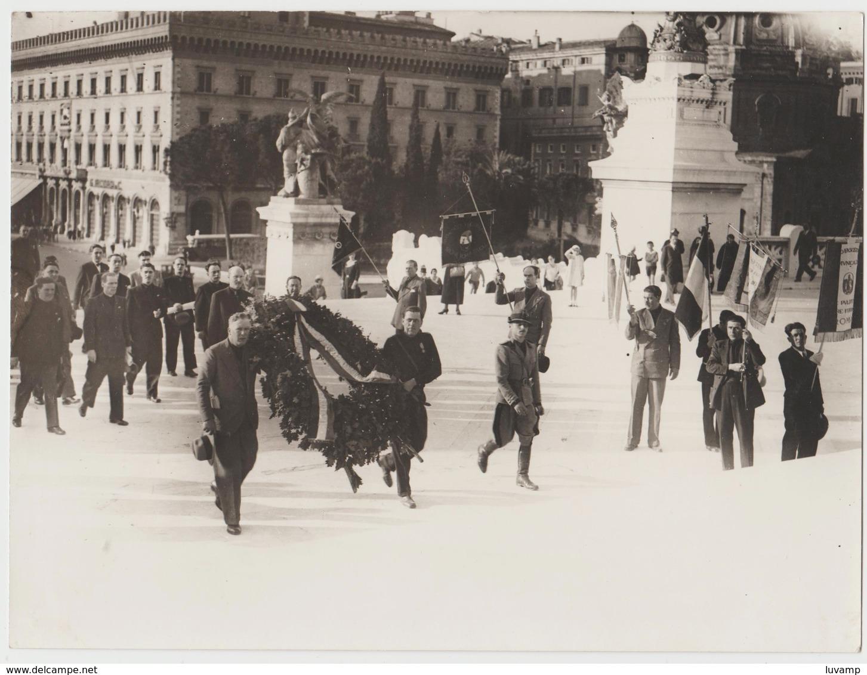ROMA MANIFESTAZIONE-DATA NON PROPONIBILE -FOTO ORIGINALE (50119) - Persone Identificate