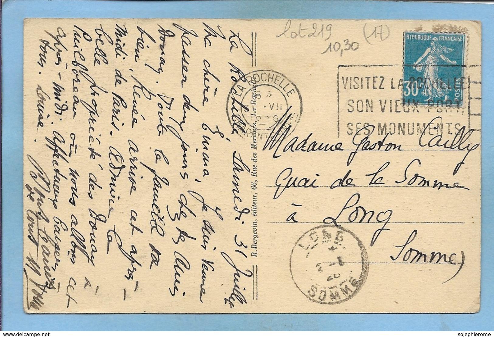 """Puilboreau (17) """"Le Logis"""" 2scans 31-07-1926 - France"""