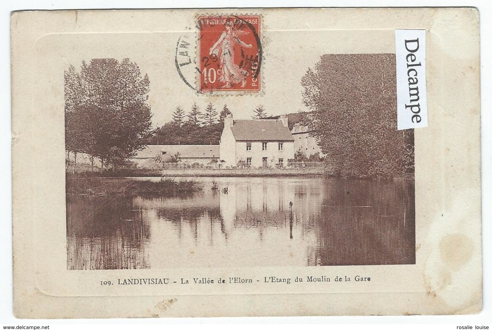 LANDIVISIAU (29) - La Vallée De L'elorn - L'Etang Du Moulin De La Gare - Landivisiau
