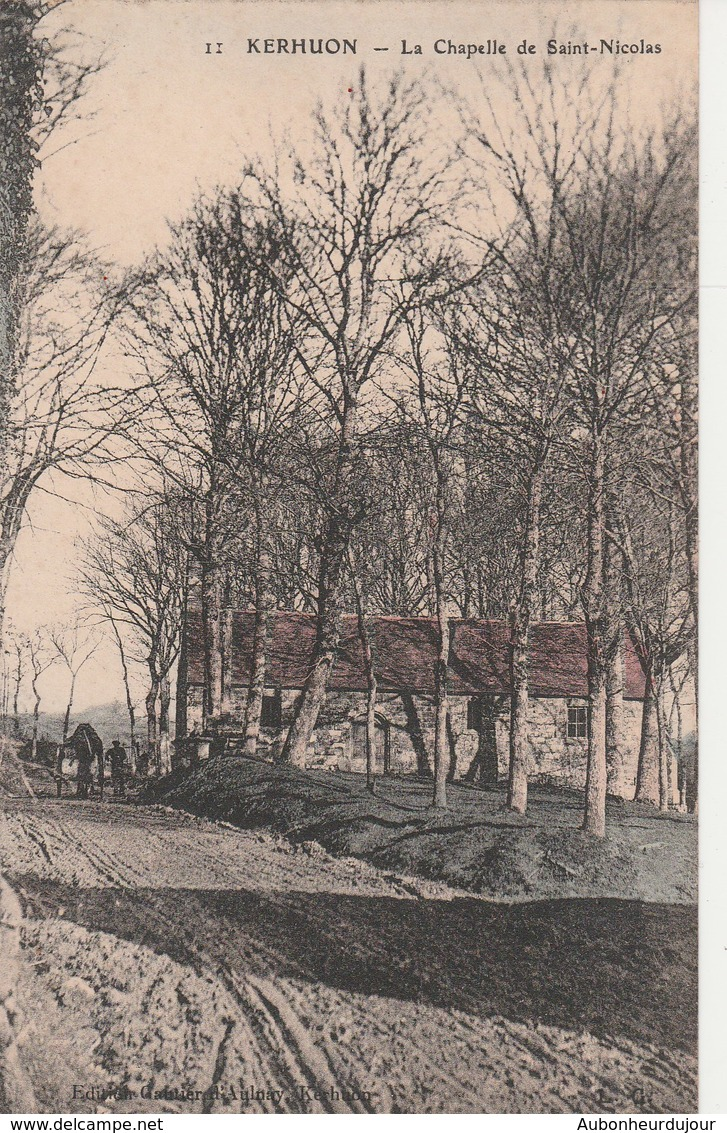 KERHUON La Chapelle De Saint Nicolas 52L - Autres Communes
