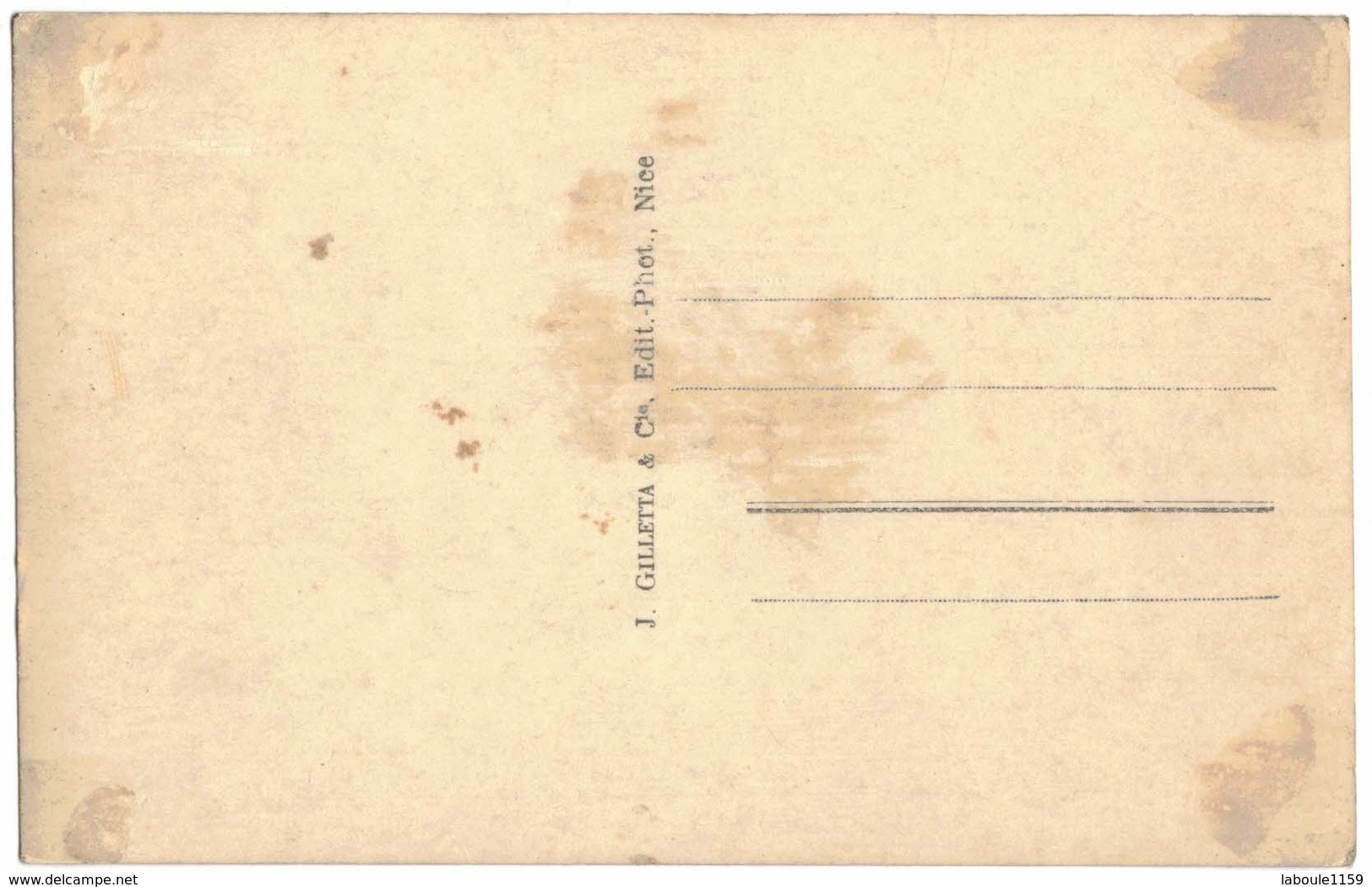TRANSPORTS BATEAUX Type CARTE PHOTO VILLEFRANCHE SUR MER : La Rade Et L'Escadre - Guerre