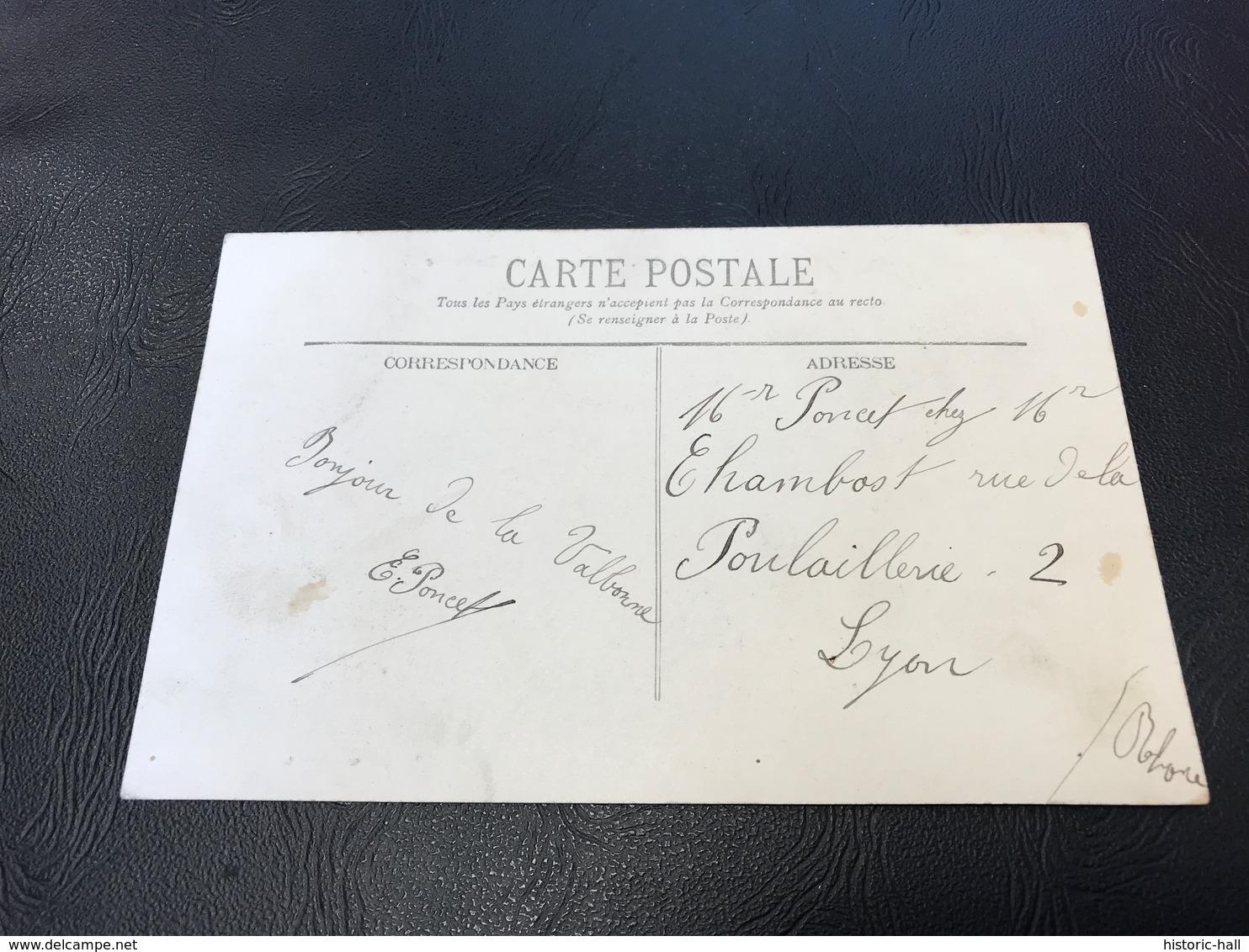 BALAN Route De La Valbonne - 1912 Timbrée - France
