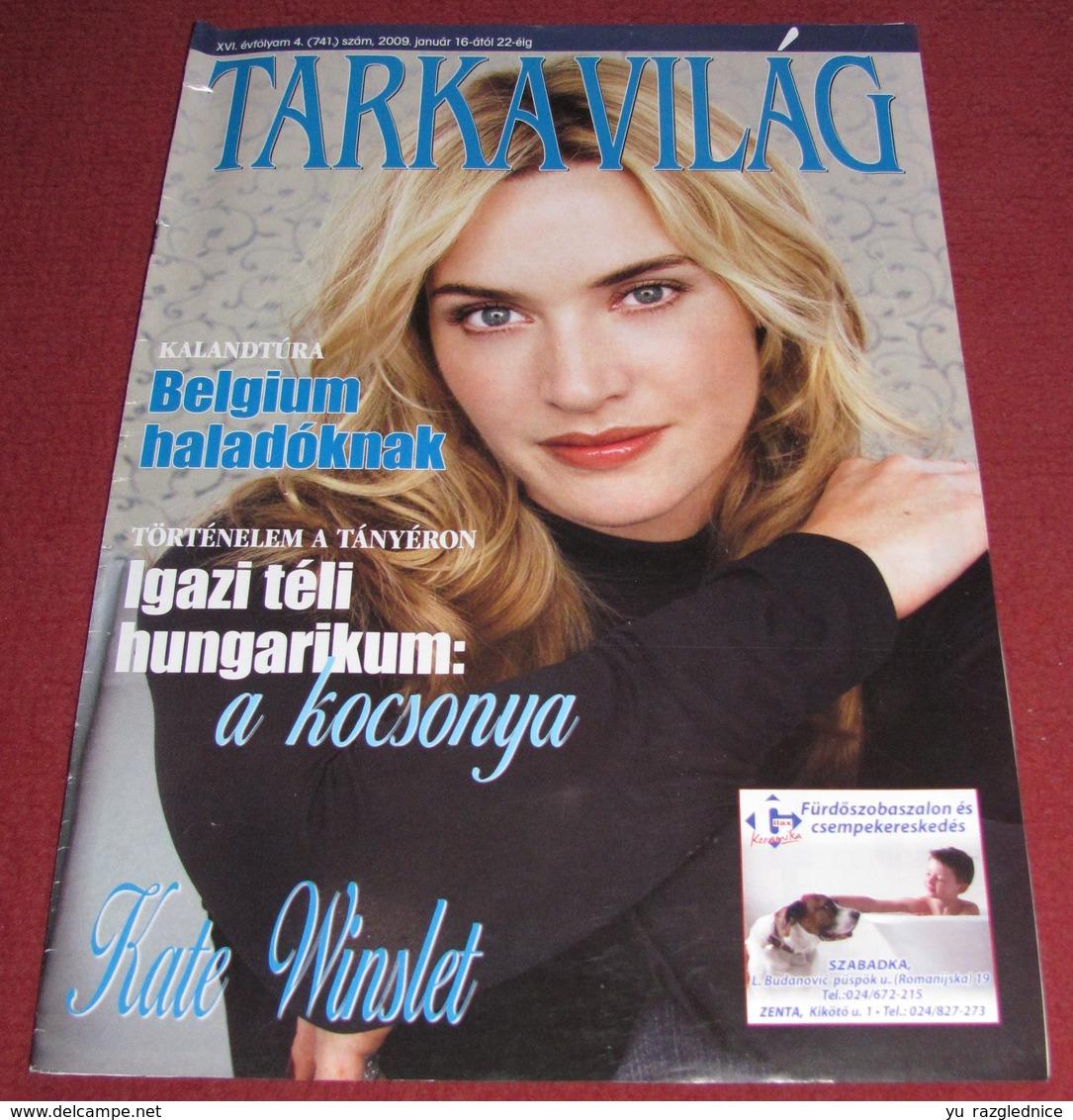 Kate Winslet TARKA VILAG Serbian January 2009 VERY RARE - Bücher, Zeitschriften, Comics