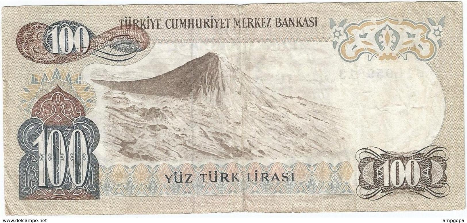 Turquía - Turkey 100 Lirasi 1983 Pk 189 C Firmas Siklar-Haseki Ref 475 - Türkei