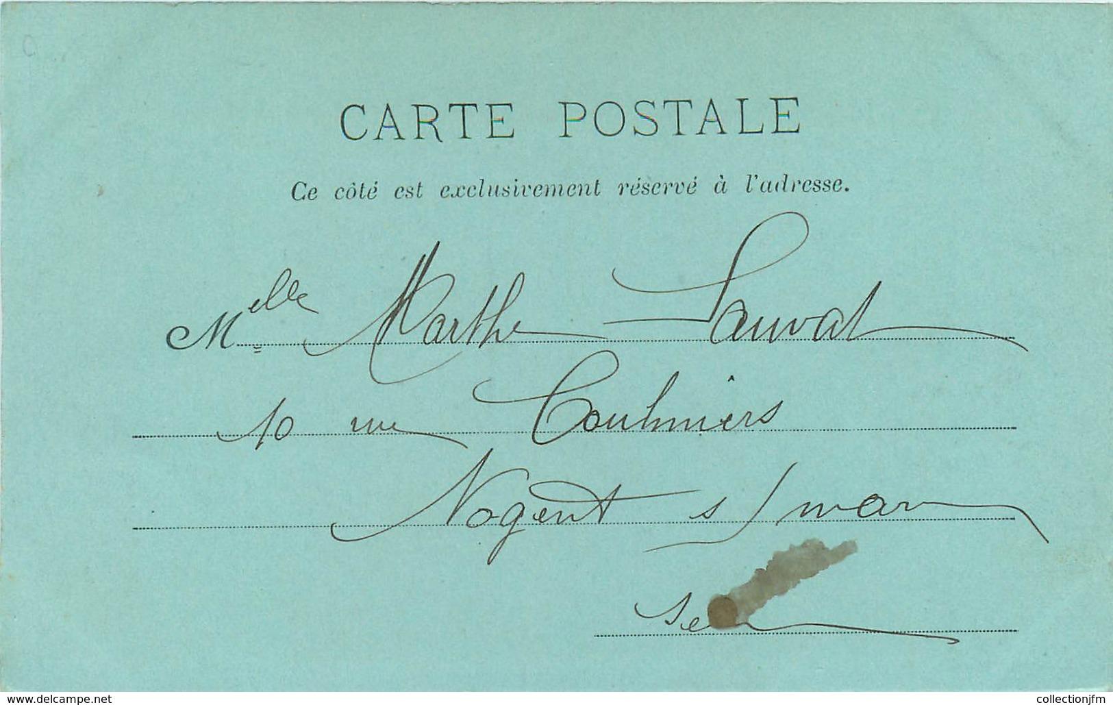 """CPA FRANCE 54 """"Lunéville, Vue Intérieure Des Bosquets"""" / Collection Bleu à La Lune - Luneville"""