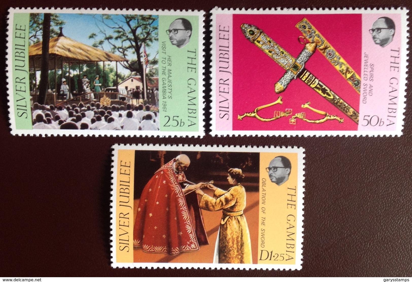 Gambia 1977 Silver Jubilee MNH - Gambie (1965-...)