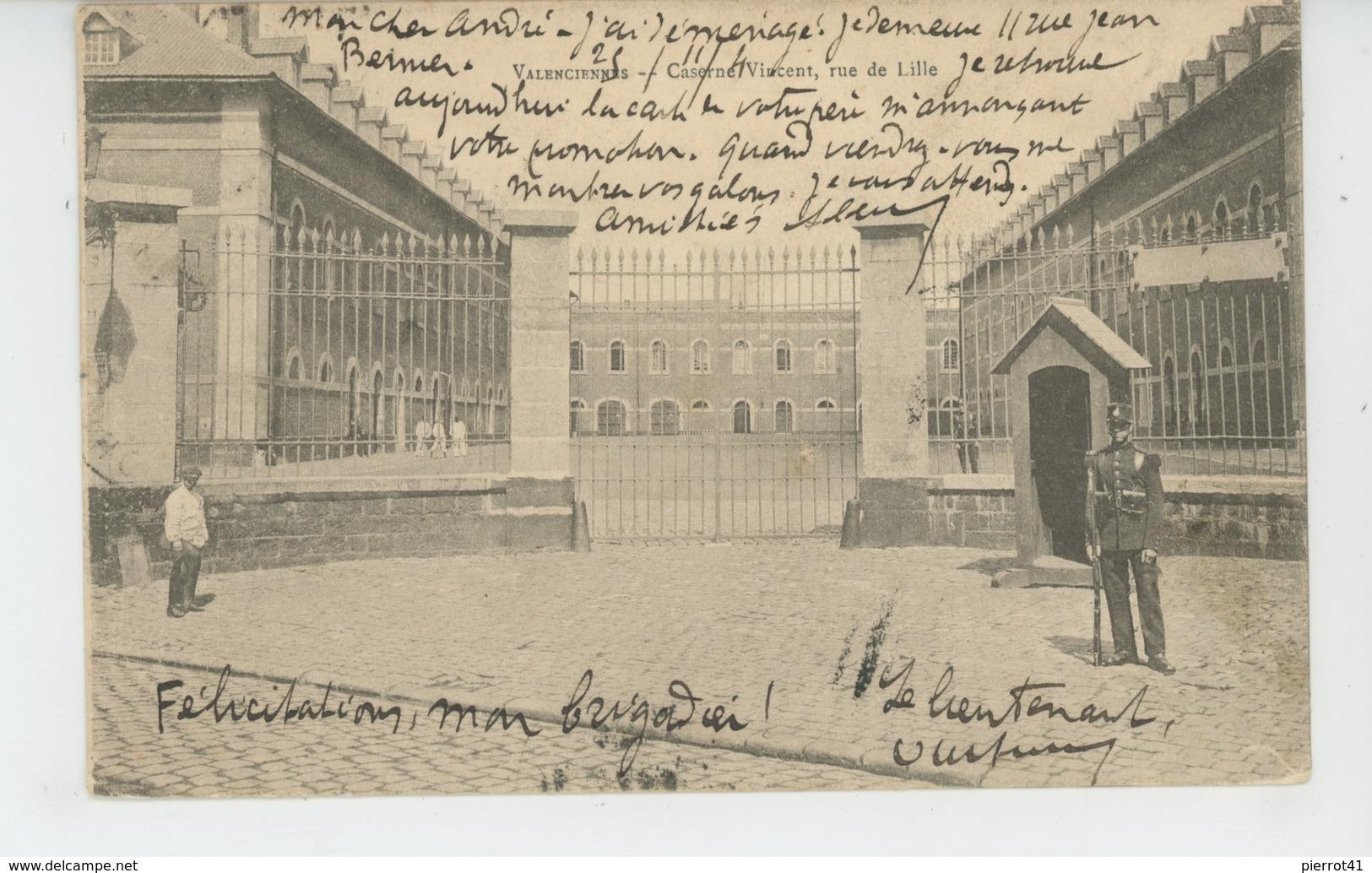 VALENCIENNES - Caserne VINCENT , Rue De Lille - Valenciennes