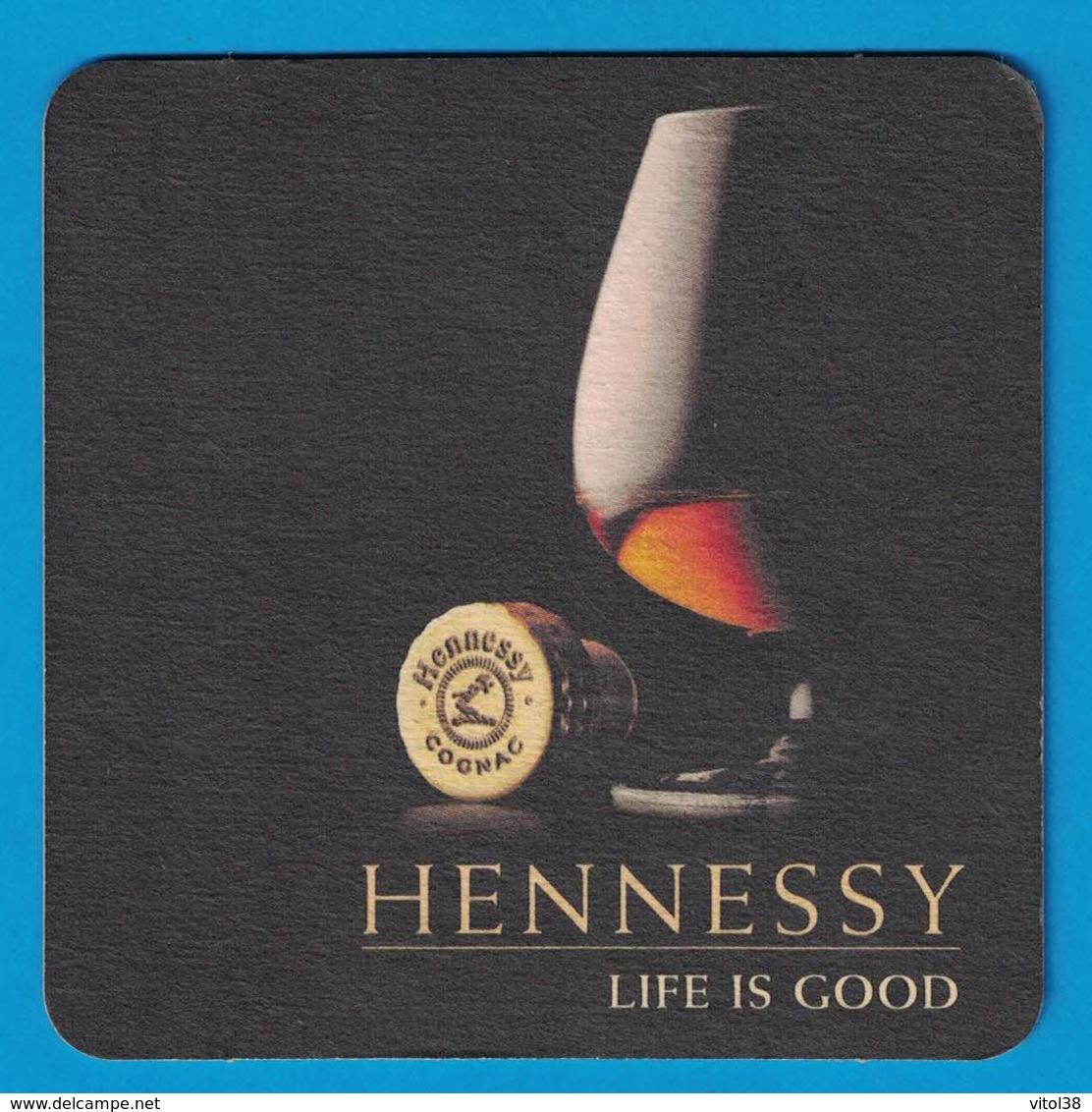 SOUS-BOCK HENNESSY COGNAC LIFE IS GOOD - Sous-bocks
