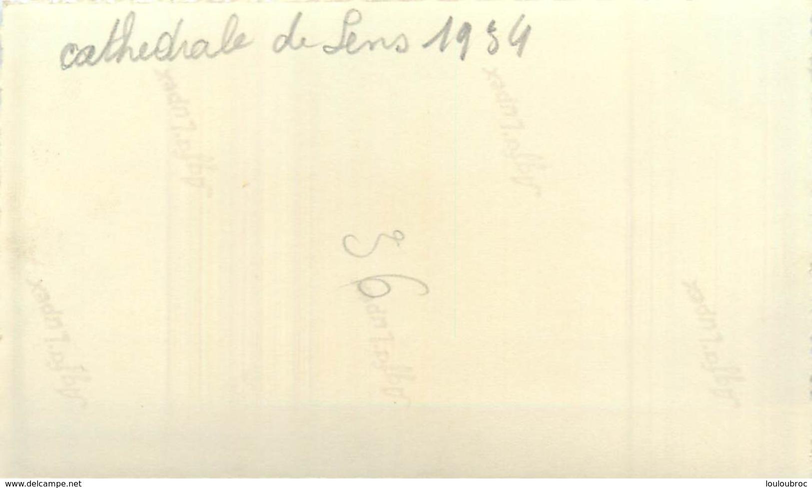 CATHEDRALE DE SENS 1934  PHOTO ORIGINALE  11.50 X 7 CM - Lieux