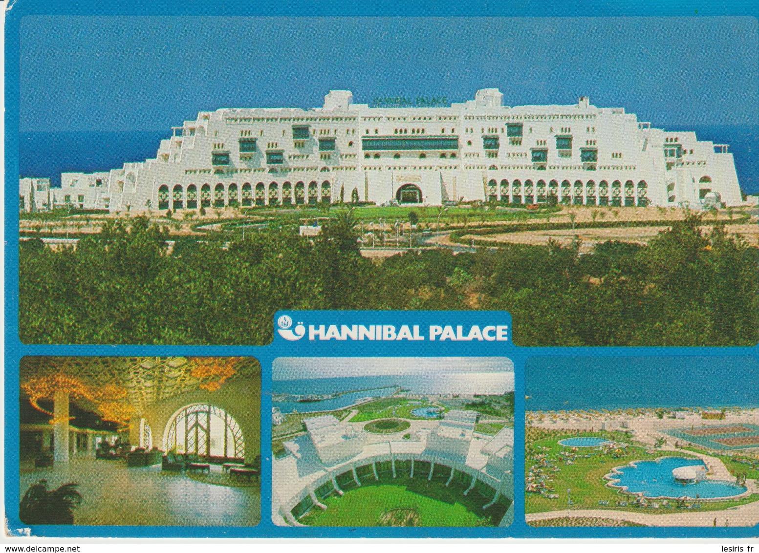 C.P. - PHOTO - TUNISIE - SOUSSE - HANNIBAL PALACE - TANIT - 394 - 4 VUES - Túnez