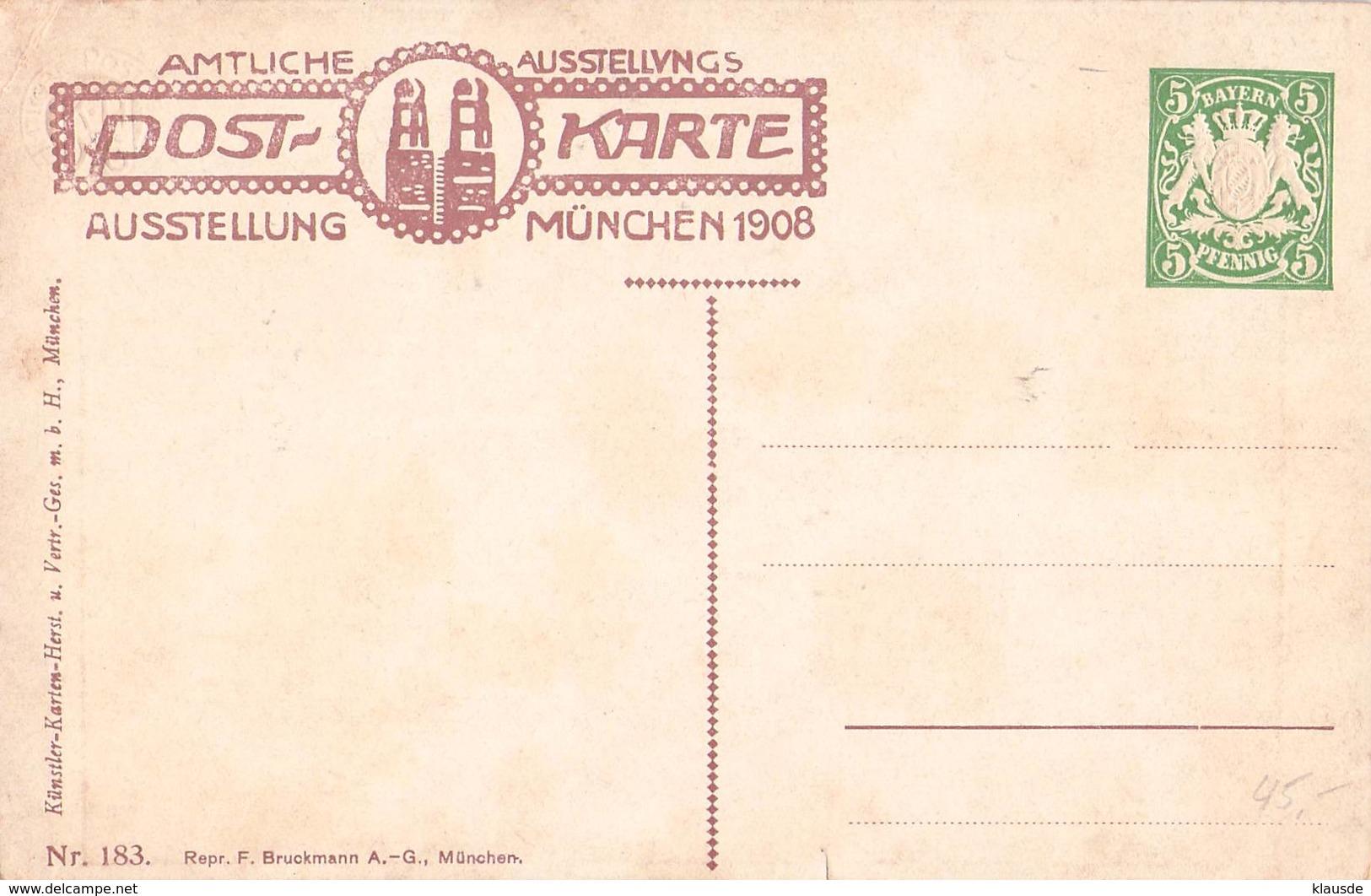 PP15 C/0183 Ausstellung München 1908 - Bayern