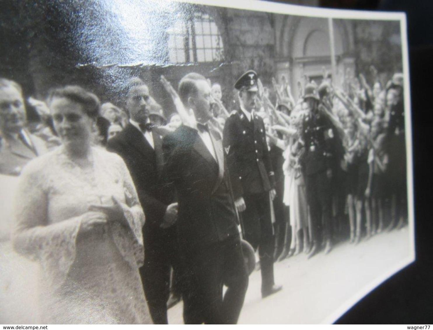 Postkarte Festspiele Bayreuth - Hitler + Winifred Wagner - Erhaltung I-II - R!! - Briefe U. Dokumente