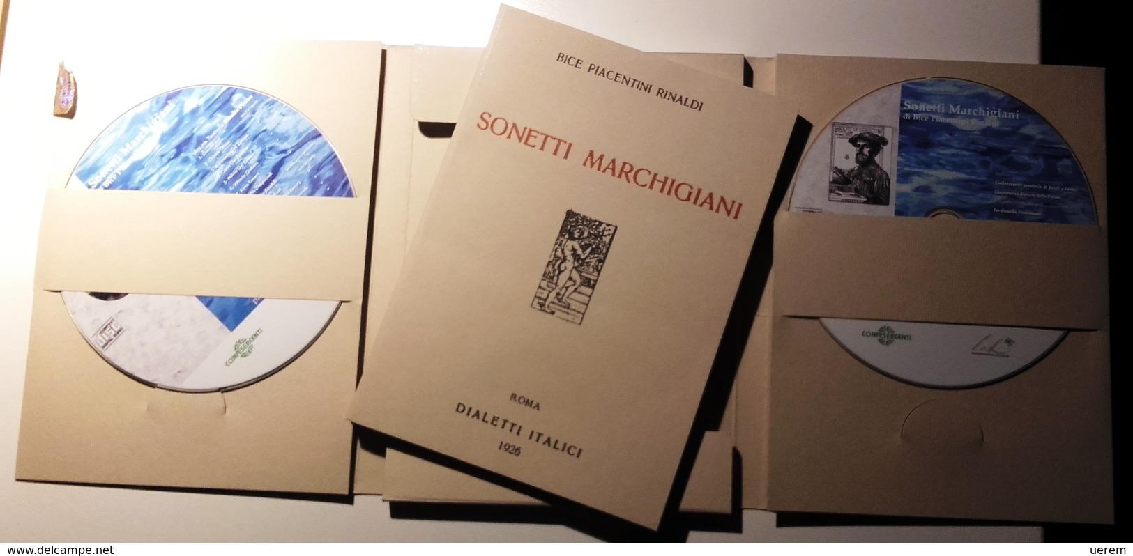 2006 MARCHE TRADIZIONI POPOLARI PIACENTINI RINALDI BICE SONETTI MARCHIGIANI Confesercenti Provincia Di Ascoli E Fermo, 2 - Old Books