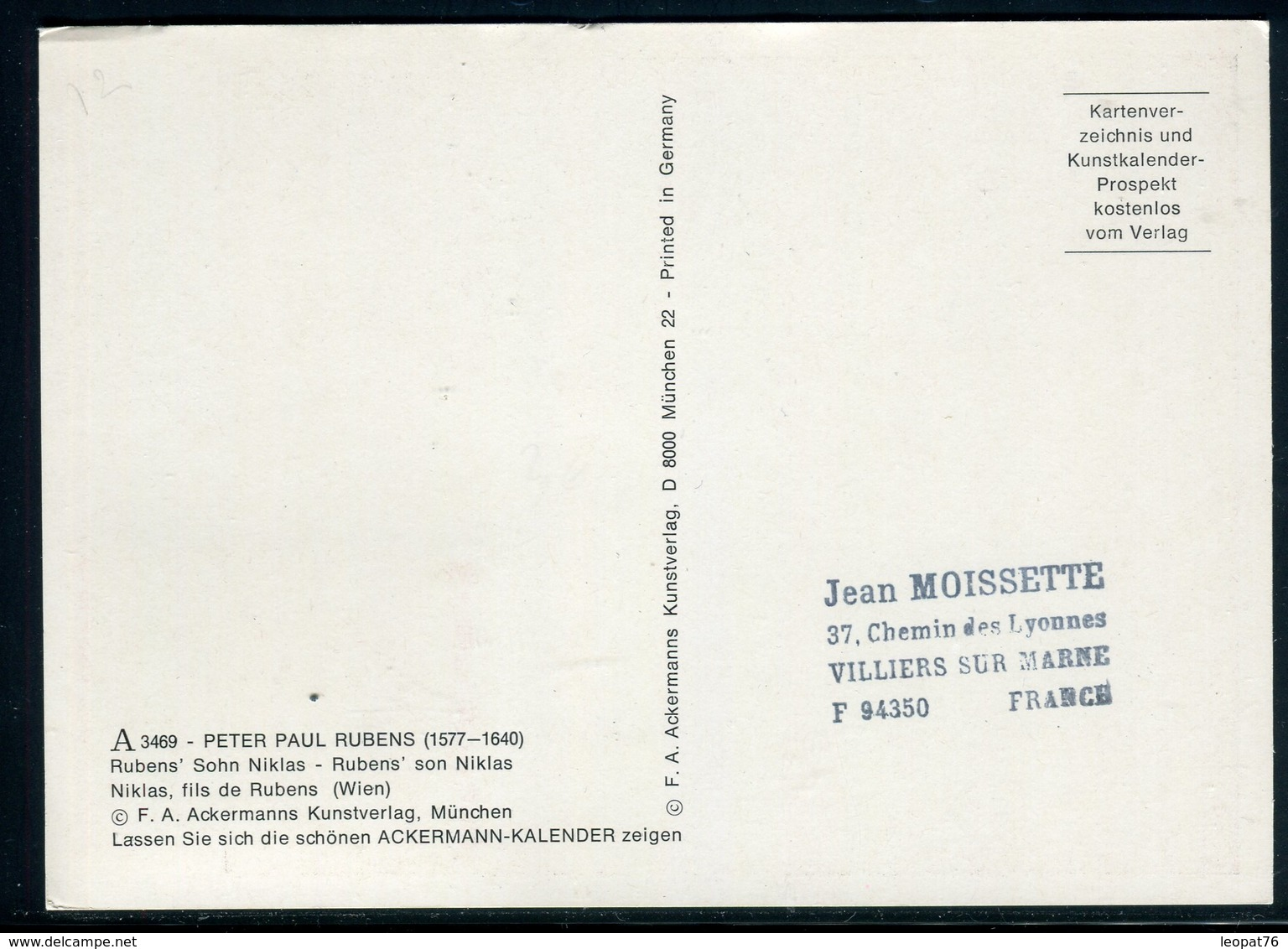 Bénin - Carte Maximum 1977 - Oeuvre De Rubens - Bénin – Dahomey (1960-...)