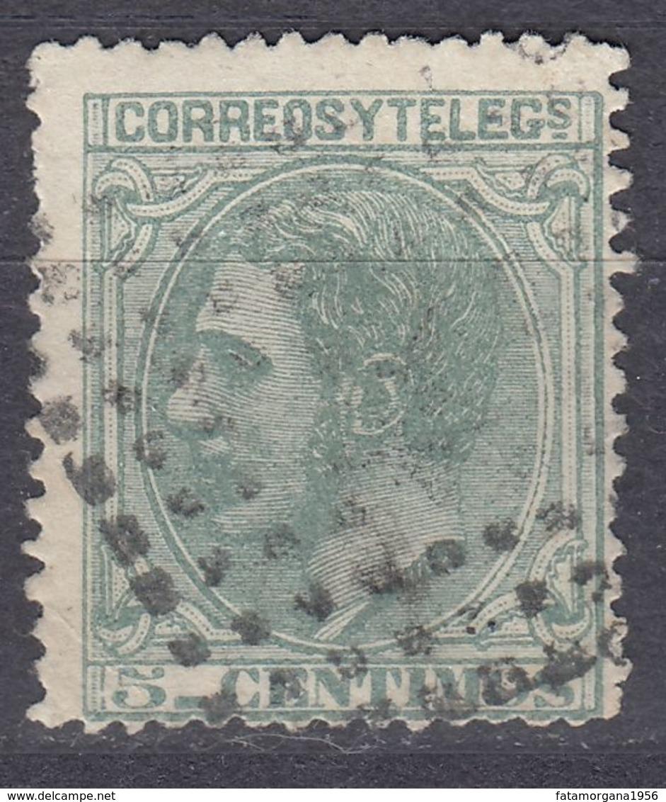 ESPAÑA - SPAGNA - SPAIN - ESPAGNE - 1879 - Yvert 184 Usato. - Gebraucht