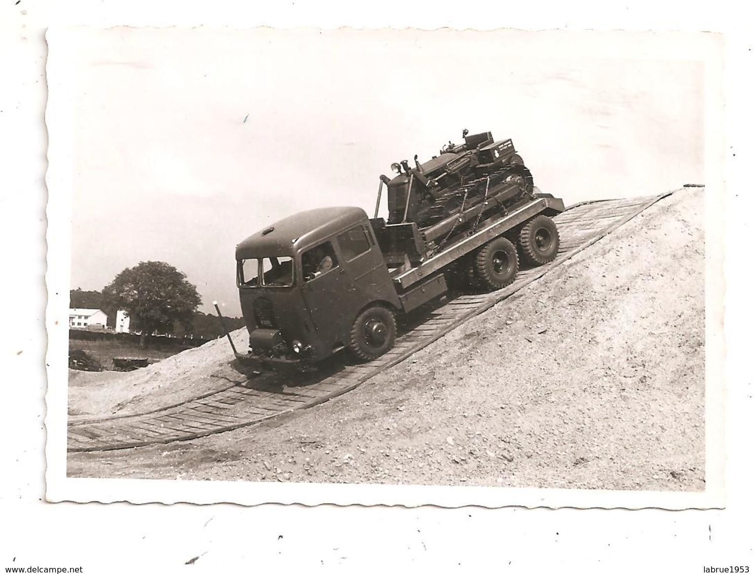 """Camion Kaelble-Bull Dozer""""Deutz"""" (D.448) - Guerre, Militaire"""