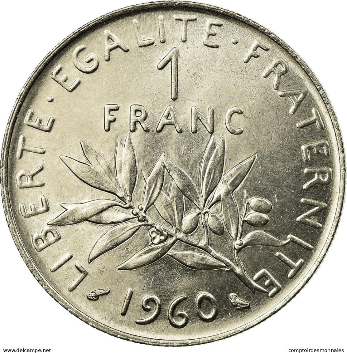 1975-1985 1 Franc France Km# 925.1 Random Date 1 Coin //Bid High Grade AU
