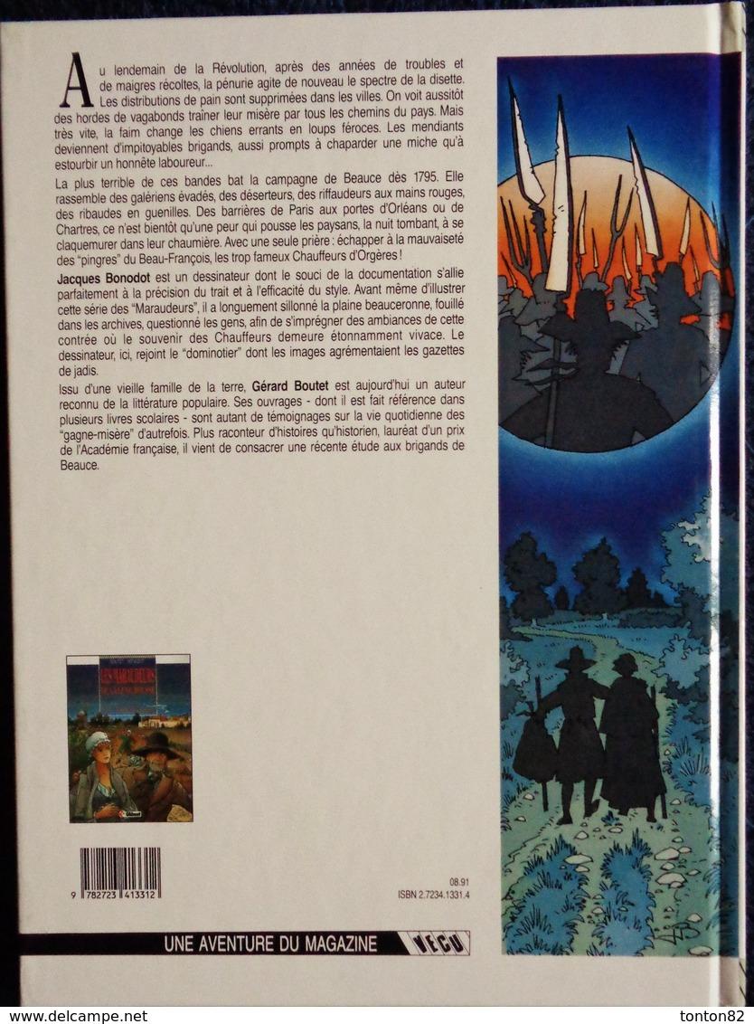 """G. Boutet - J. Bonodot - Les Maraudeurs De La Lune Rousse - T1 """" Le Carnaval Des Gueux """" -  Glénat - ( E.O 1991 ) . - Bücher, Zeitschriften, Comics"""