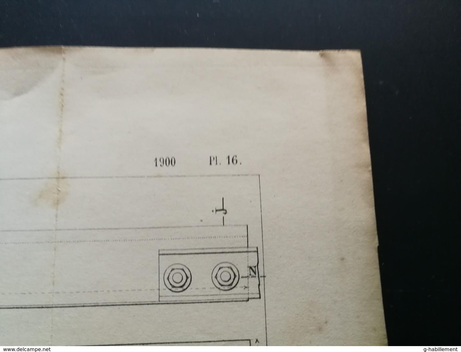 ANNALES DES PONTS Et CHAUSSEES (DEP 87) - Tramways électriques De Limoges - L. Courtier - 1900 (CLE78) - Machines