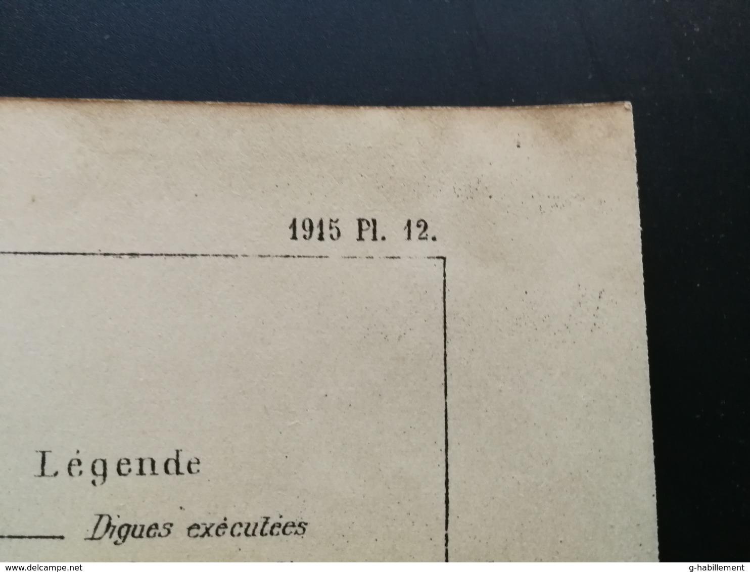 ANNALES DES PONTS Et CHAUSSEES (Dep 44)- Plan De La Loire Et Du Port De Nantes Imp A.Gentil 1915 (CLE79) - Machines