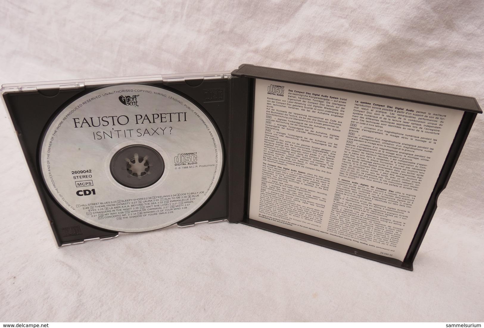 "2 CDs ""Fausto Papetti"" Isn't It Saxy? - Instrumental"