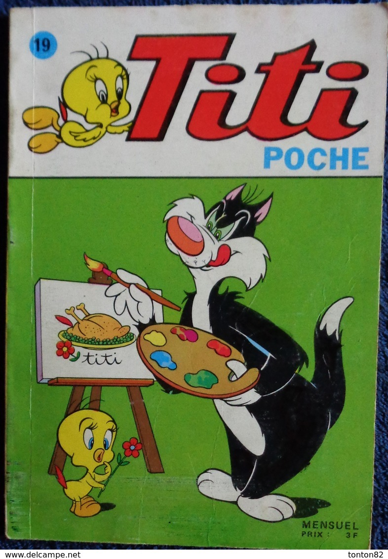 Titi Poche N° 19 - ( Juillet 1974 ) . - Bücher, Zeitschriften, Comics