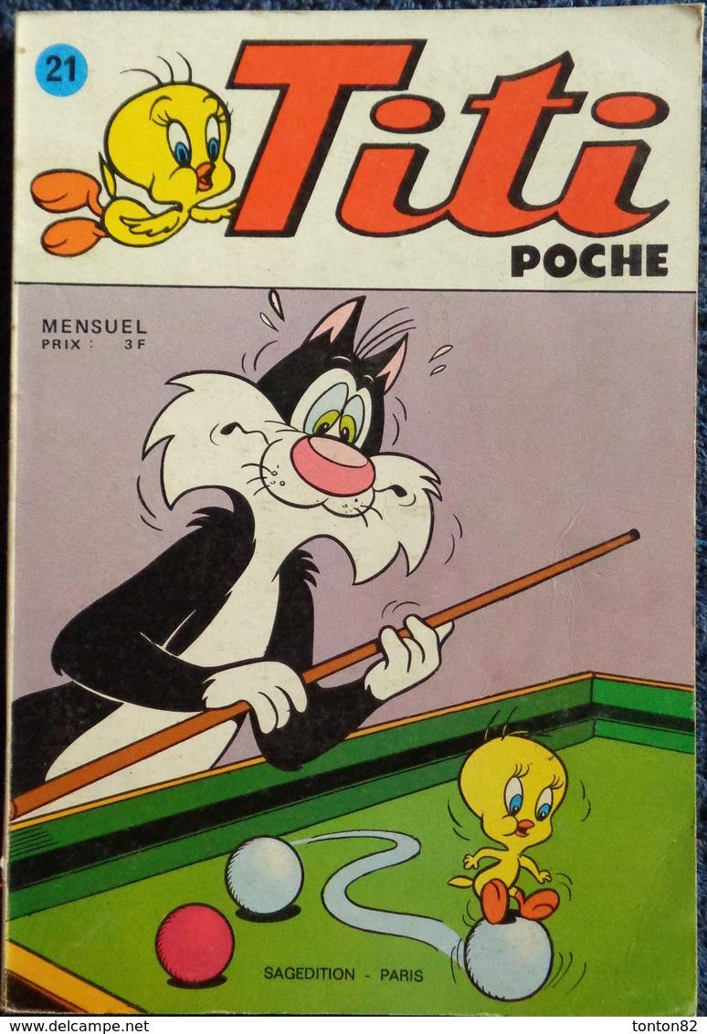 Titi Poche N° 21 - Bücher, Zeitschriften, Comics