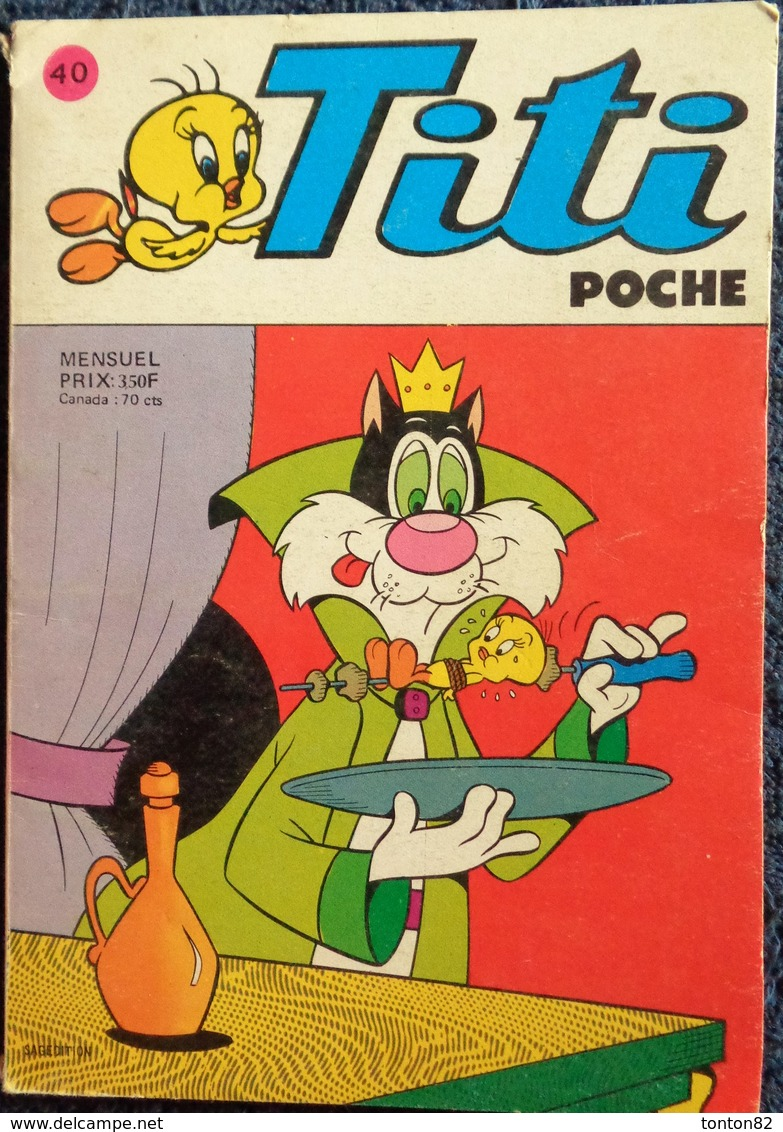 Titi Poche N° 40 - Bücher, Zeitschriften, Comics