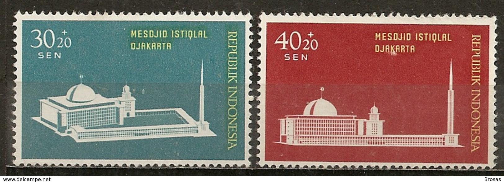 Indonesie Indonesia 1962 Mosque M * - Indonesië