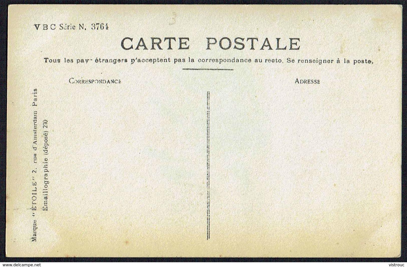 FEMME - CP - Jeune Femme Avec Une Rose - Non Circulé - Not Circulated - Nicht Gelaufen. - Femmes