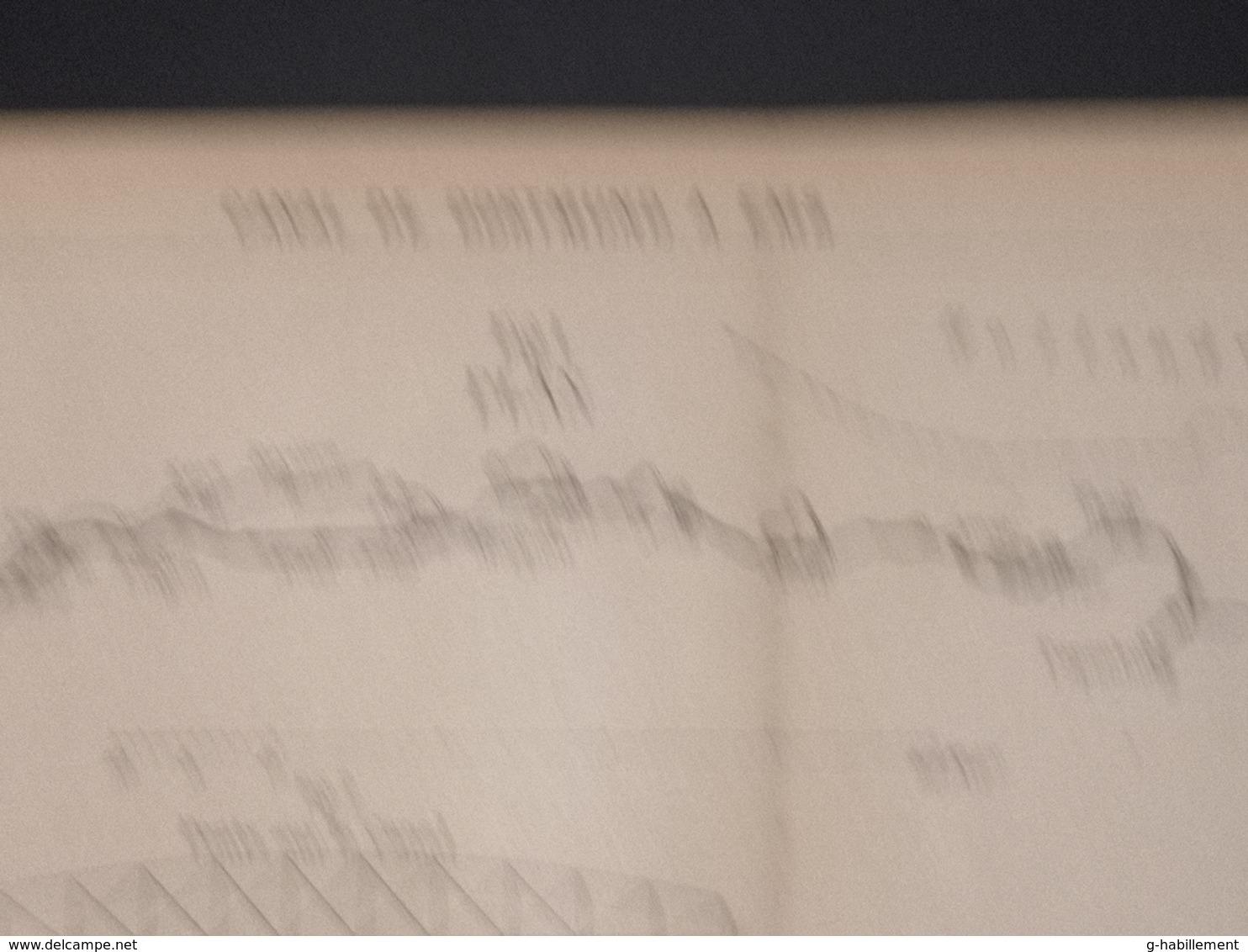 ANNALES PONTS Et CHAUSSEES (Allemagne) - Plan Du Canal De Dortmund à EMS - 1901 (CLF20) - Cartes Marines