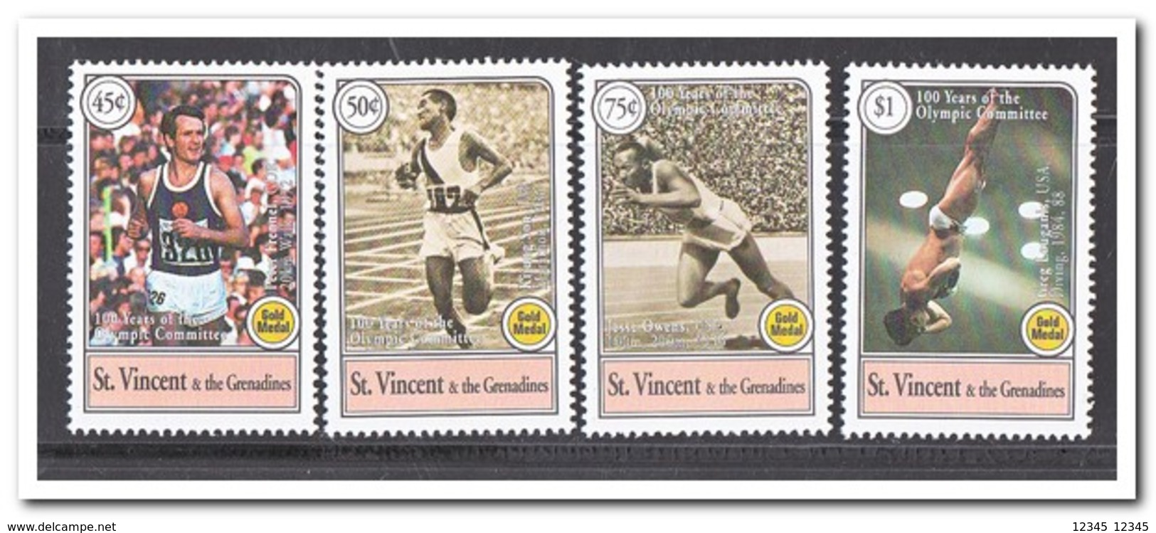 St. Vincent & The Grenadines, Postfris MNH, Olympic Games - St.-Vincent En De Grenadines