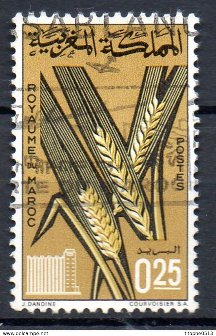 MAROC. N°497 Oblitéré De 1981. Blé. - Agriculture