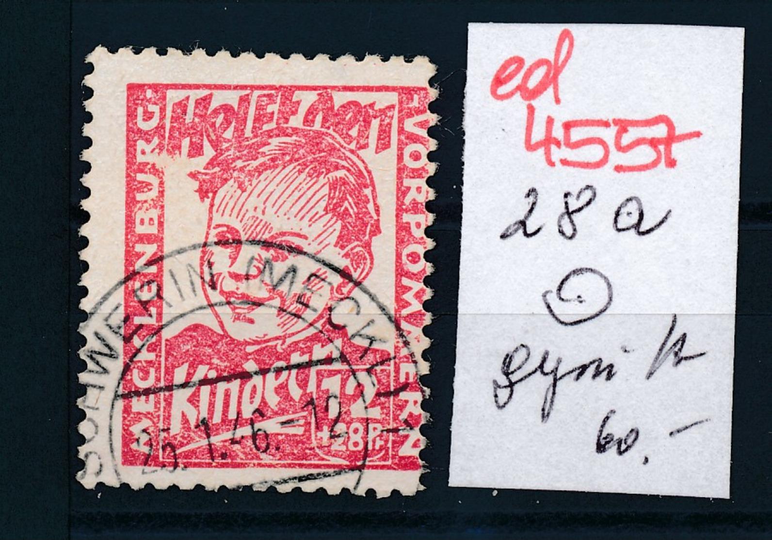 SBZ Nr. 28a   Geprüft  O   (ed4557  ) Siehe Scan - Zone Soviétique