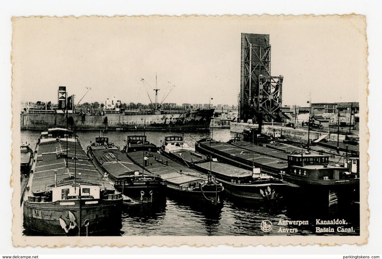 D051 Antwerpen Anvers - Kanaaldok - Bassin Canal - Antwerpen