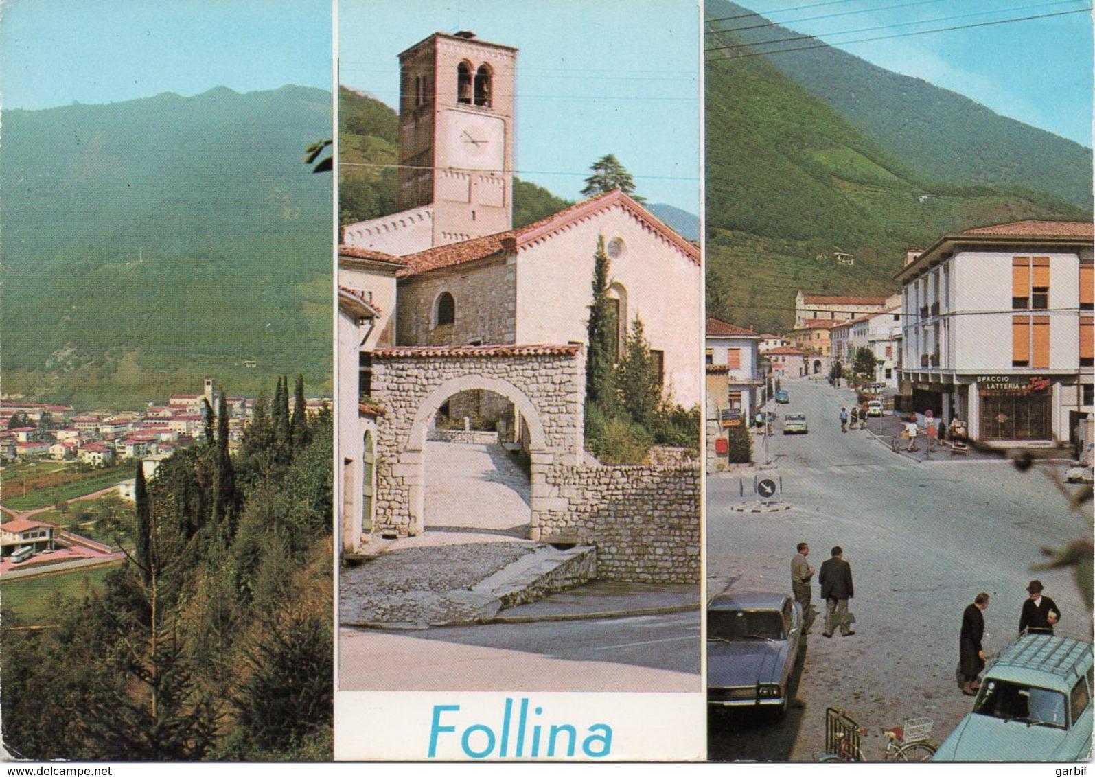 Treviso - Follina - Vedutine - Fg Nv - Treviso