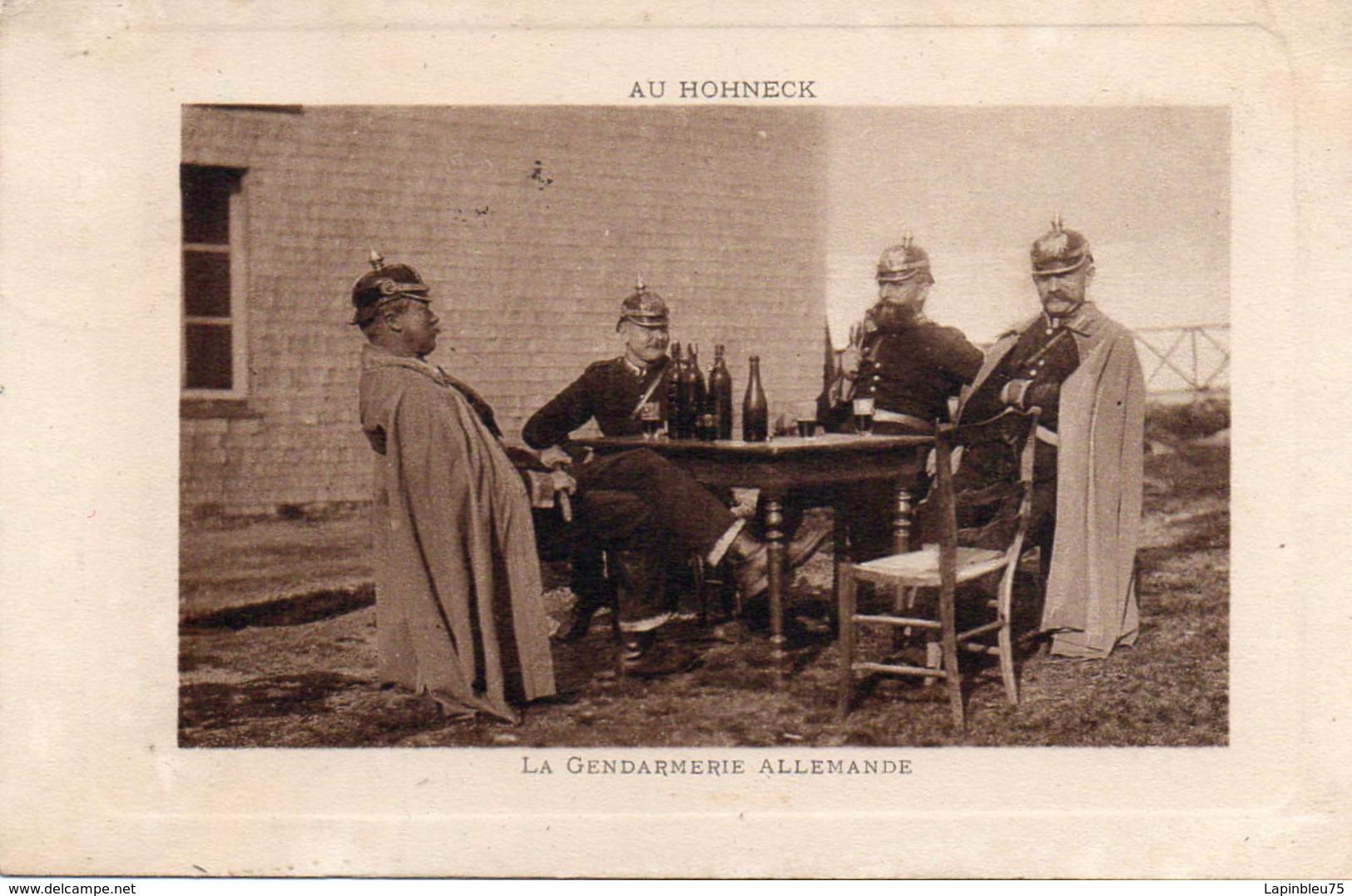 CPA 88 Vosges Hohneck Au Gendarmerie Allemande - France