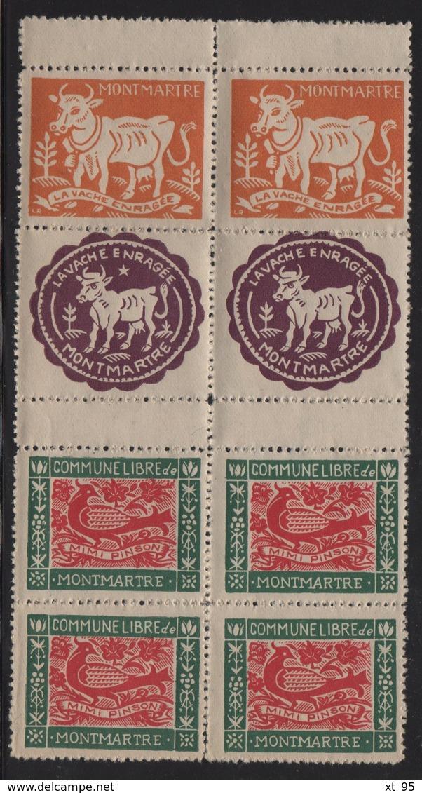 Montmartre - Commune Libre - La Vache Enragee - Mimi Pinson - Other
