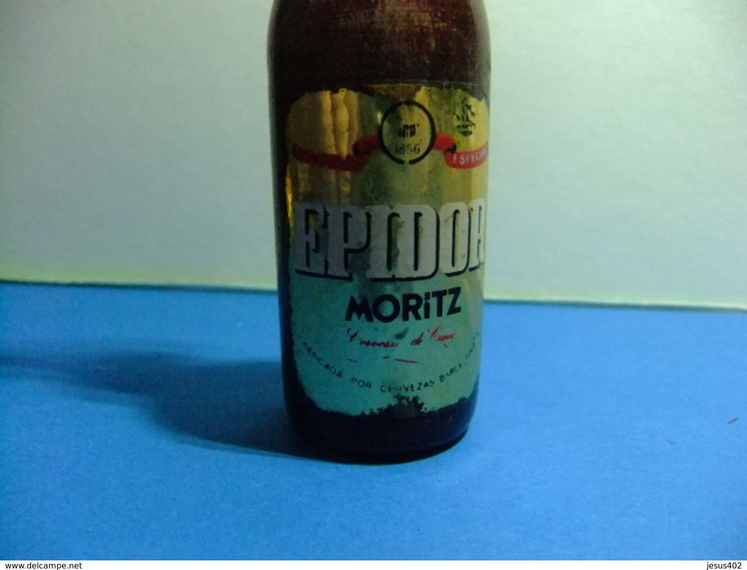 ABREBOTELLAS EPIDOR MORITZ Botella De Madera Con Abridor - Décapsuleurs Bouteille En Bois EPIDOR MORITZ - Destapador/abrebotellas