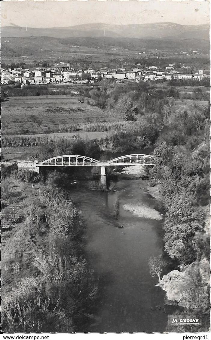 CPA-1950-83-LE MUY-Vue Générale Et L ARGENS  Le Pont-TBE - Le Muy