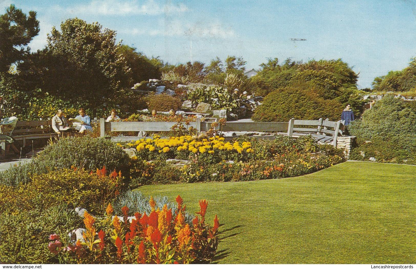 Postcard Rock Gardens Southsea With Portsmouth Naval Port Slogan Cancel PU 1969 My Ref  B13032 - England