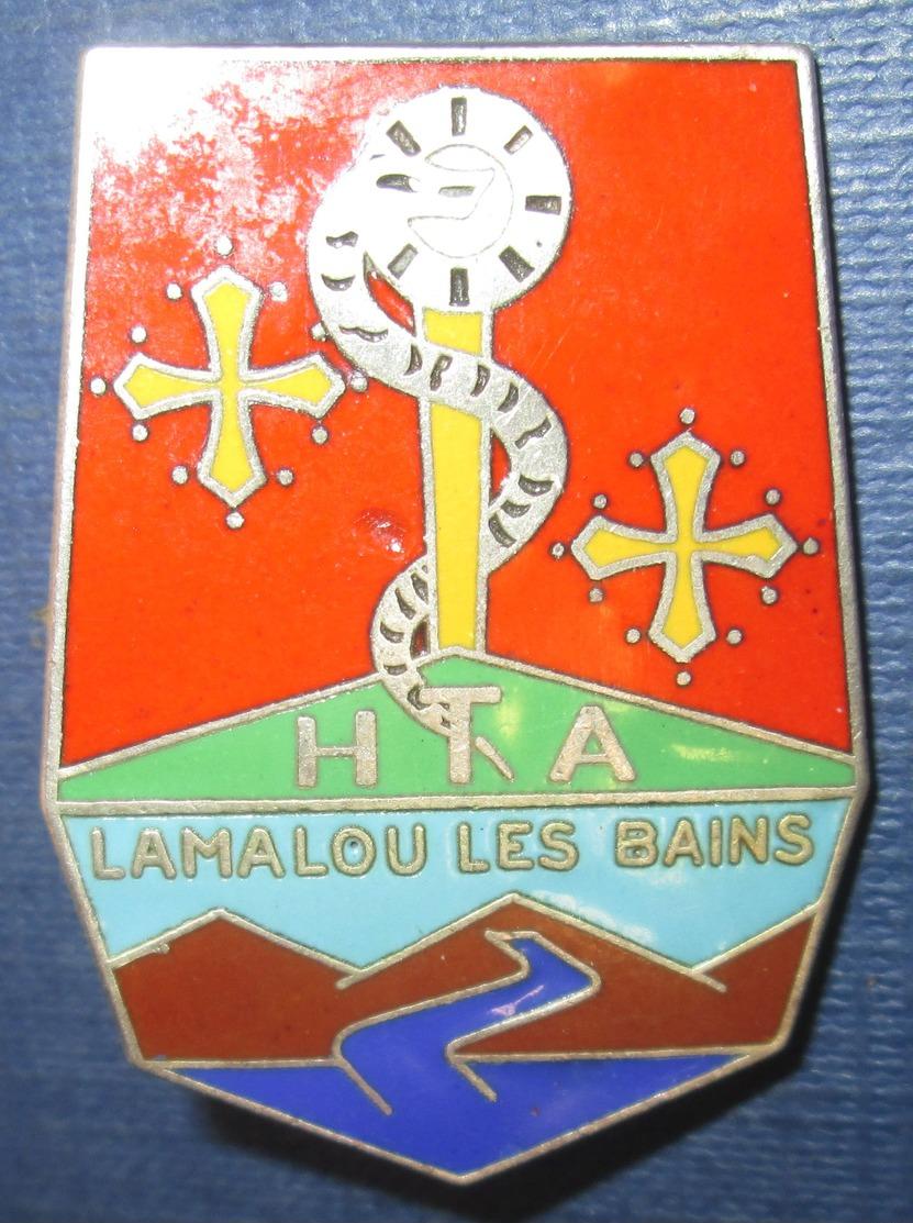 Hôpital Thermal Des Armées, LAMALOU Les BAINS, Boléro Oblong - Armée De Terre