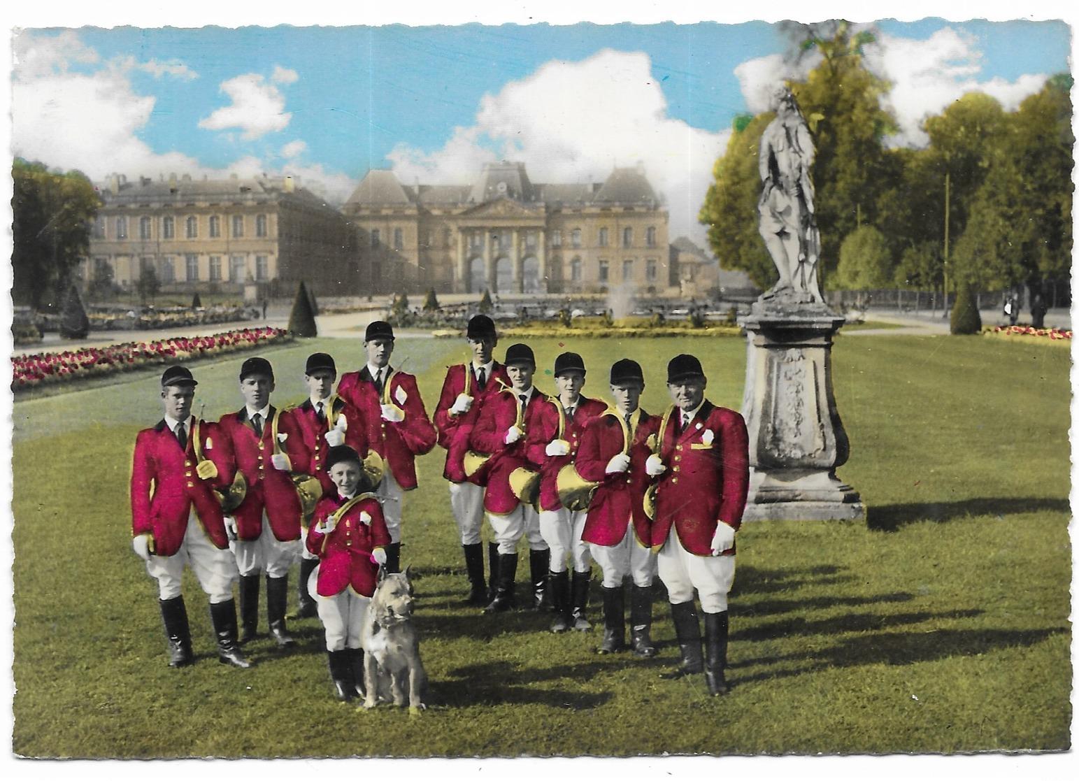 """Lunéville """" La Diane """" Société De Trompe De Chasse De Luneville Photo Chambon Lunéville - Luneville"""