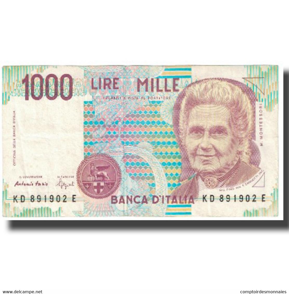 Billet, Italie, 1000 Lire, 1990, 1990-10-03, KM:114a, SPL - [ 2] 1946-… : République