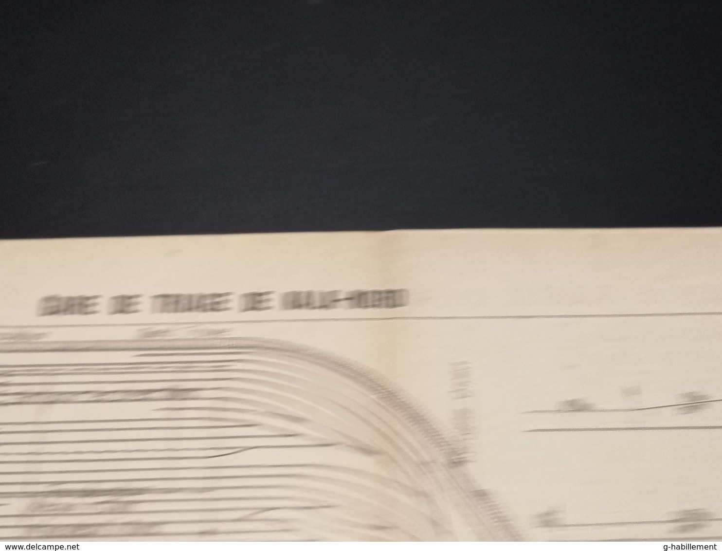 ANNALES DES PONTS Et CHAUSSEES (Allemagne) - Plan De La Gare De Triage De Kalk-Nord  - Imp A.Gentil 1912 (CLF30) - Machines