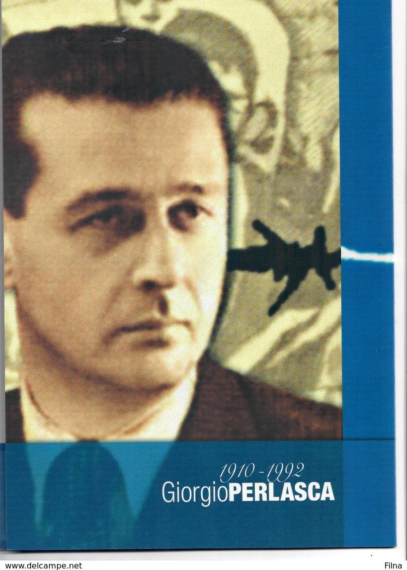 ITALIA 2010 - FOLDER   GIORGIO PERLASCA  CON CD    - SENZA SPESE POSTALI - 6. 1946-.. Republic