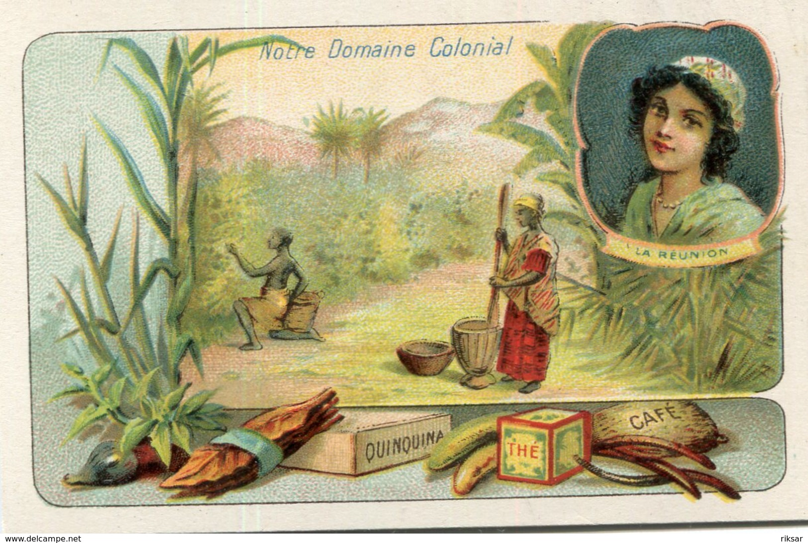 LA REUNION(CHROMO) - La Réunion