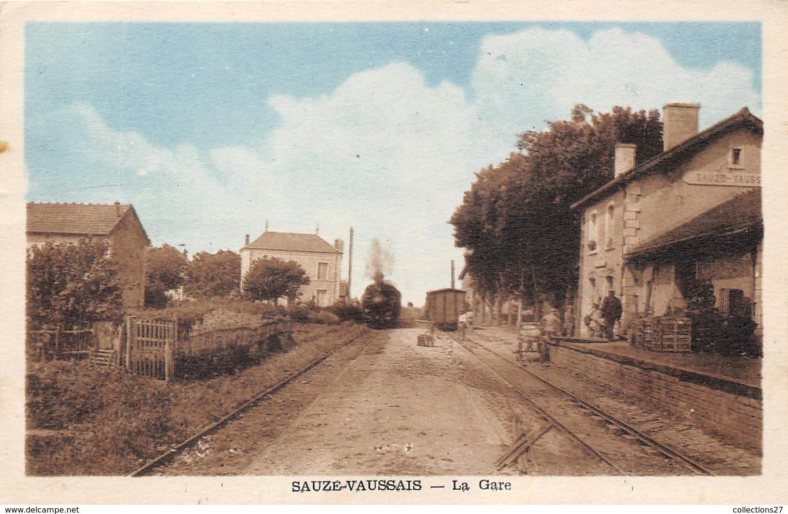 79-SAUZE-VAUSSAIS- LA GARE - Sauze Vaussais